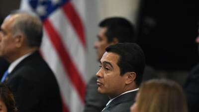 Judge denies bail to brother of Honduran president arrested on drug charges
