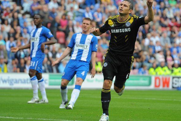 'Frankie' no falló y su equipo se imponía por 2-0.
