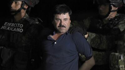 Piden omitir las declaraciones del 'Chapo' Guzmán durante su extradición hacia Nueva York