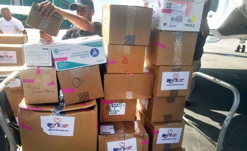 Las cajas son marcadas, enumeradas y selladas por los mismo doctores que...