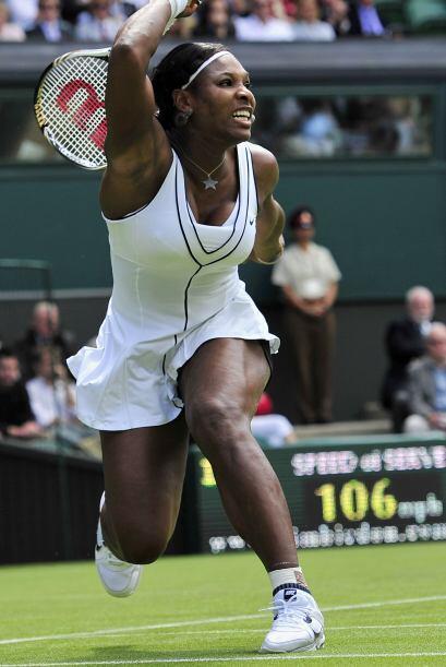 Serena, defensora del título había vuelto a la competición apenas dos se...