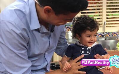 #DAelReality Babies Edition: Baby Joshua resultó tan coqueto como su pap...