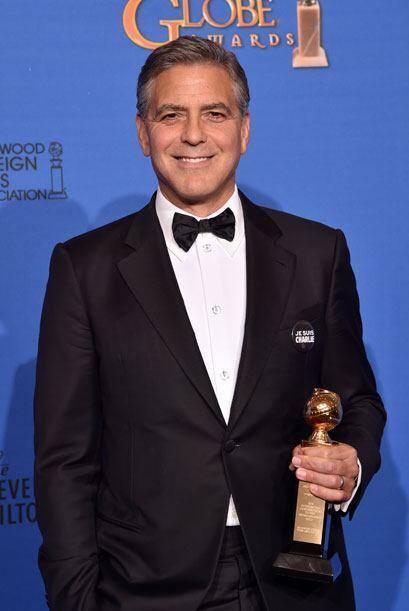 George Clooney recibió el premio especial a su trayectoria.