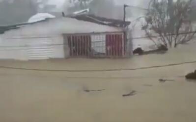 Así lucía Toa Baja tras fuerte inundación provocada...