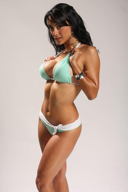 El secreto de ese cuerpo es más ejercicio que dieta, pues se sabe fragil...