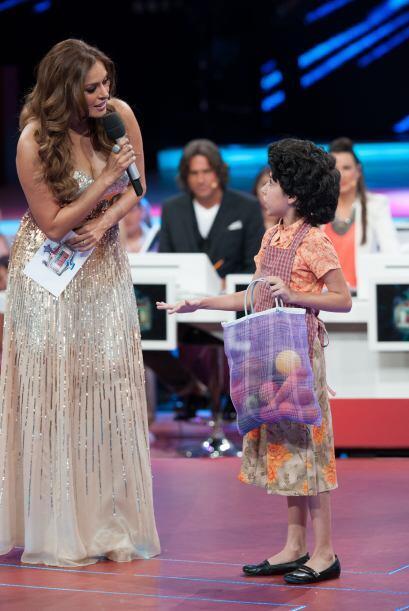 Doña Luchita, del Club de la Comedia, también visitó el show y es muy di...