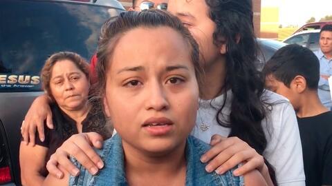 En video: Liberan a la dreamer con DACA que llevaba detenida una semana...