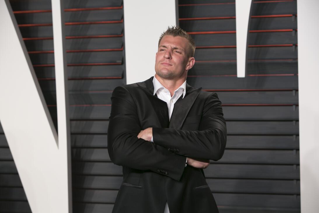 Rob Gronkowski piensa en retiro de NFL para ser estrella de Hollywood ge...
