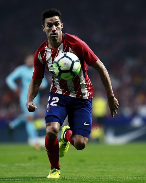 El argentino Nico Gaitán, del Atlético de Madrid, estaría siendo negocia...