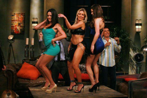 ¿A cuál de estas tres bellezas preferirías que te hicieran un bailecito?...