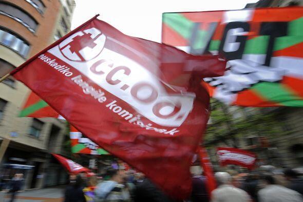 España fue otro de los países que salieron a las calles este 1 de mayo.