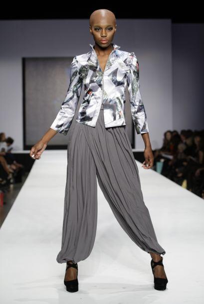 La diseñador Lisu Vega brilló muy bien con su colecci&oacu...