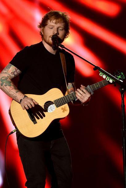 Ed Sheeran protagonizó uno de los mejores números de esta edición.