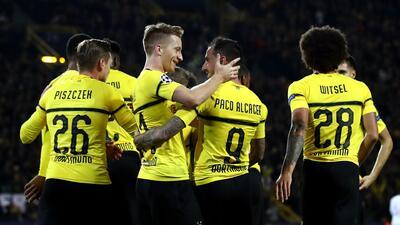 Borussia Dortmund y su delantera de oro en este comienzo de temporada de la Bundesliga