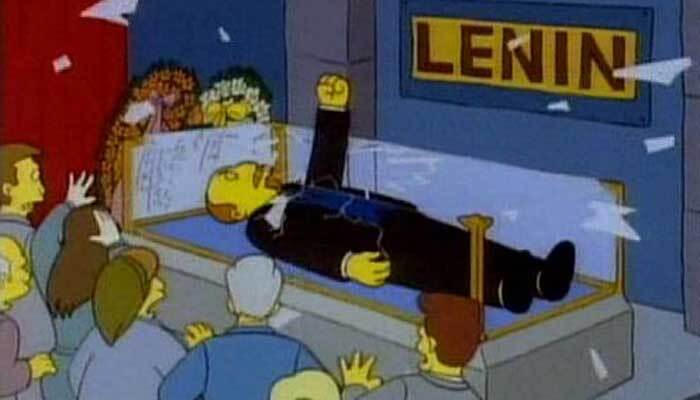 Lenin en Los Simpson
