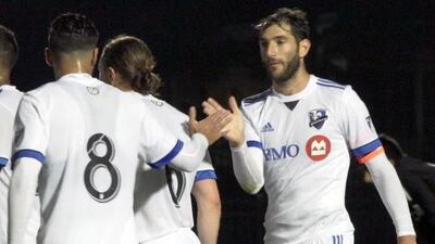 'Nacho' Piatti contribuyó para la victoria de Montréal Impact en...