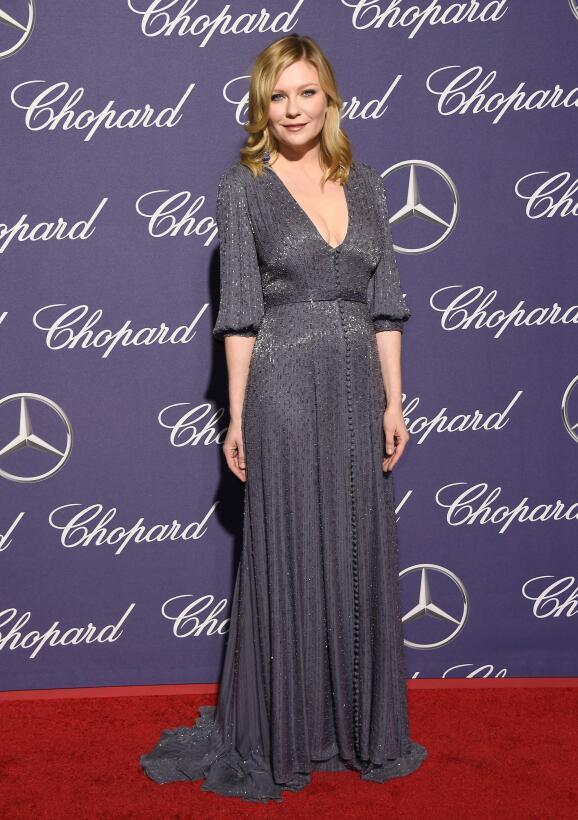 Kirsten Dunst, la hermosa 'jugadora' que brilló en Wimbledon GettyImages...