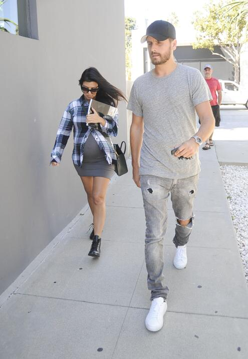 Scott y las Kardashian