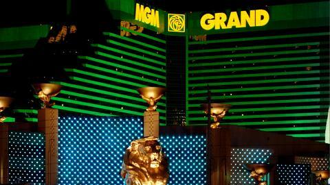 Uno de los grandes hoteles de Las Vegas fue el escenario de un violento...