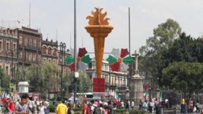 Mexicanos celebran este 16 de septiembre la Independencia de México.
