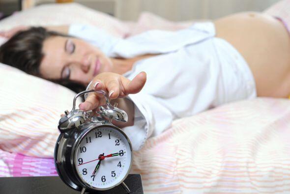 Solo quieren dormir: Durante el primer trimestre es más común, pero en g...