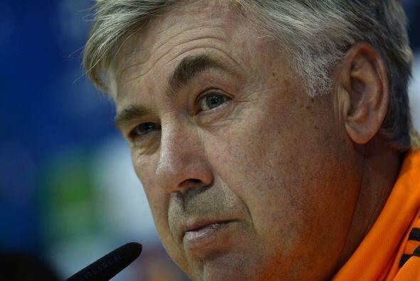 La alineación de Ancelotti: Carletto dijo que usaría su alineación usual...