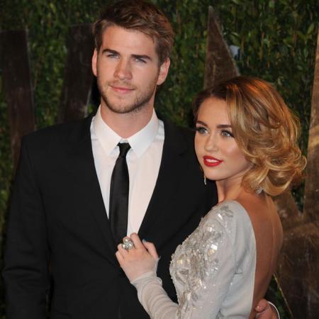 Miley Cyrus y Liam Hemsworth cuando aún eran pareja