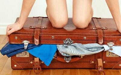 ¡No cargues de más! Escucha estos sencillo trucos para empacar tu maleta