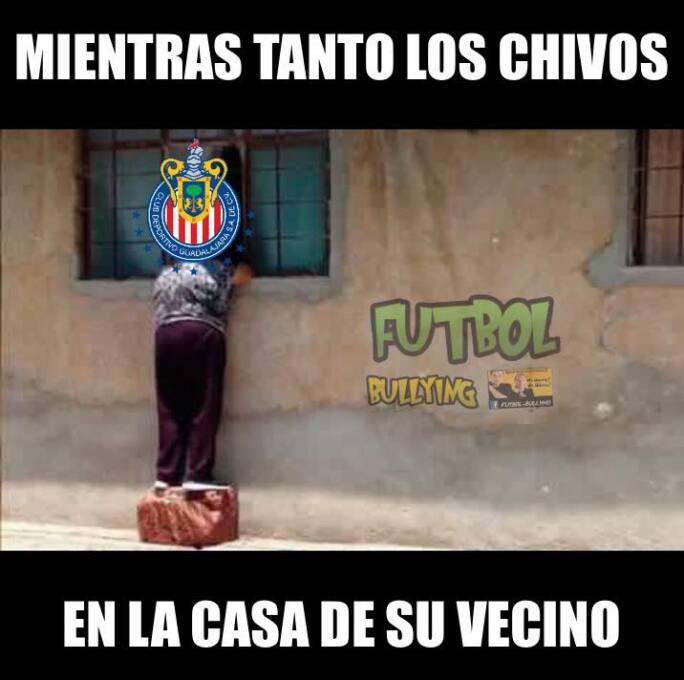 Los memes del triunfo de América y Chivas, pero las burlas se las llevó...