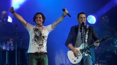 Alejandro Sanz y David Bisbal