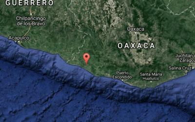 Localización del epicentro del sismo de esta madrugada en M&eacut...