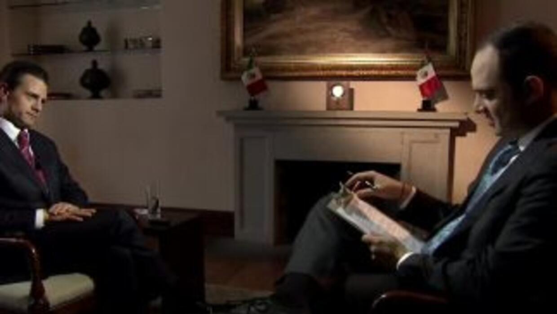 Enrique Peña Nieto - León Krauze entrevista exclusiva Univision 34 KMEX-...
