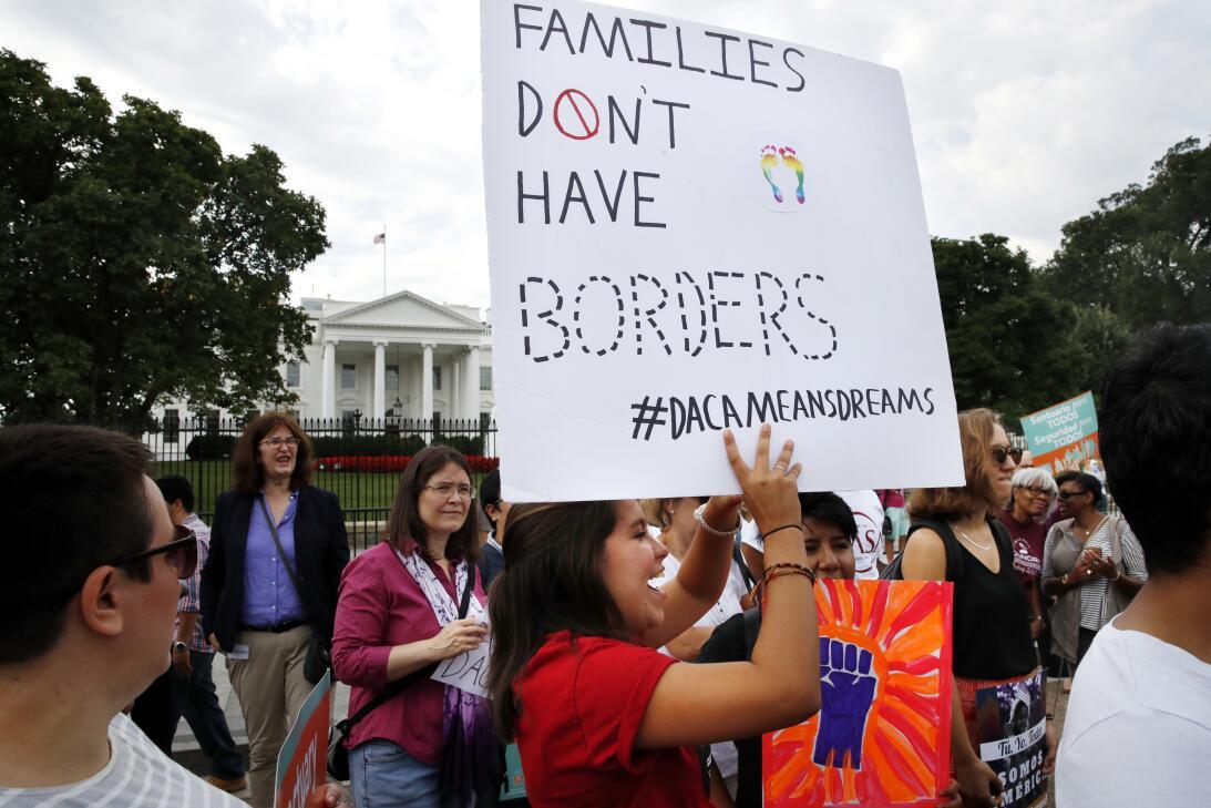 Protestas DACA Washington