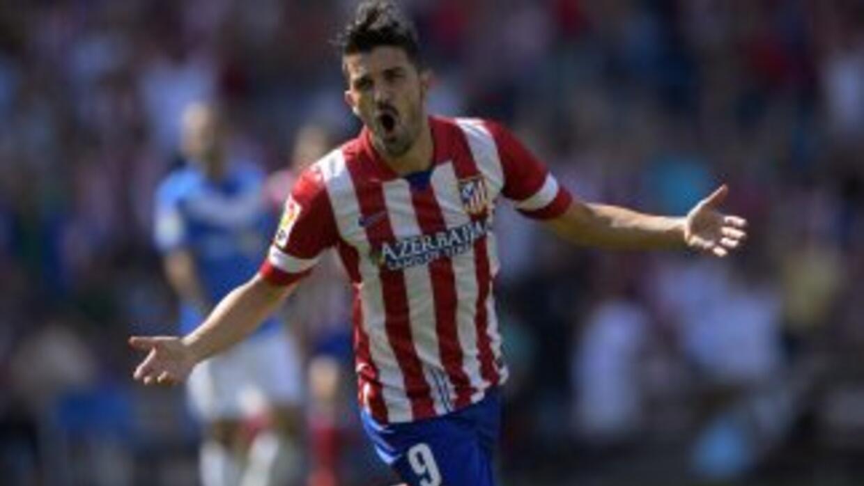 David Villa, clave para que el Atlético de Madrid aspire a llegar lejos...