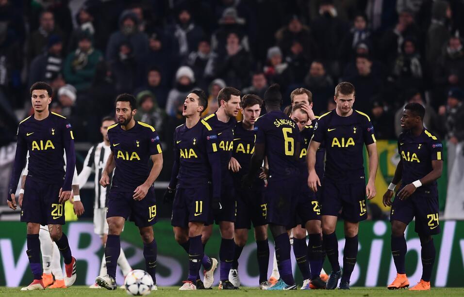 En Champions League, Juventus y Tottenham empataron 2-2 en los octavos d...