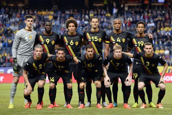Bélgica quiere dar la sorpresa en la competencia y se ubica en el Grupo...