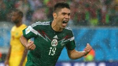 EL delantero de la selección mexicana asegura que quieren ser campeones...