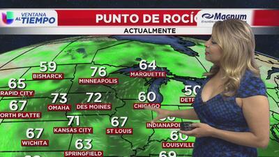 Ventana al Tiempo: Posibilidad de tormentas en horas de la noche este viernes en Chicago