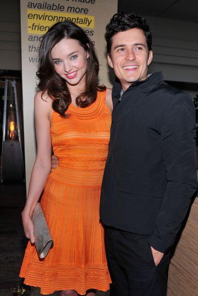Miranda Kerr y Orlando Bloom En julio de 2010, apenas un mes después de...