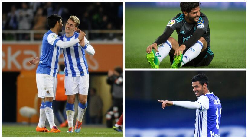 En el reencuentro Griezmann-Vela, el Atlético venció 1-0 a la Real vela.jpg