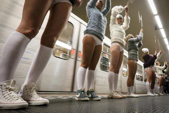Esta es la primera vez que el evento se organiza en el metro belga .