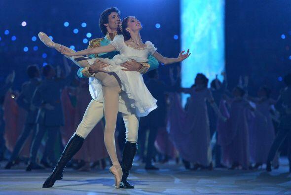No podían faltar los clásicos ballets rusos.