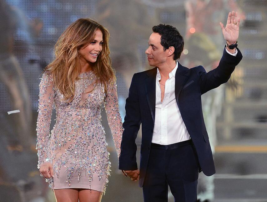 J. Lo y Marc Anthony, la historia de amor que no nos cansamos de ver JLO...
