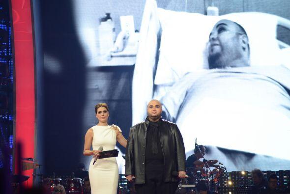 Galilea mostró un clip donde se le vio en el hospital.