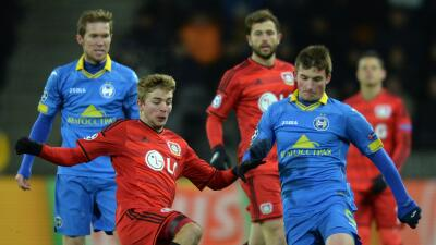 Frío empate del Leverkusen en Borisov