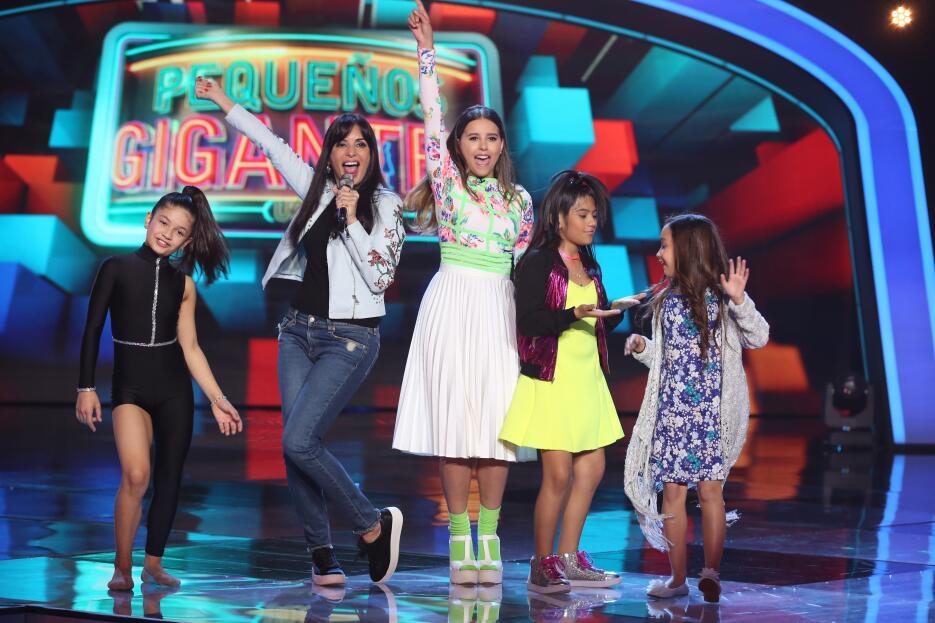 Paulina goto look Pequeños Gigantes USA