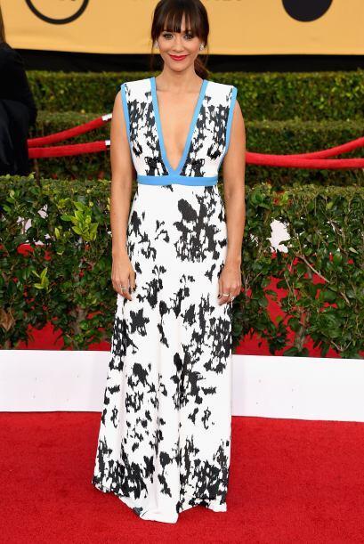 Rashida Jones, quien salía en 'Parks and Recreation'.