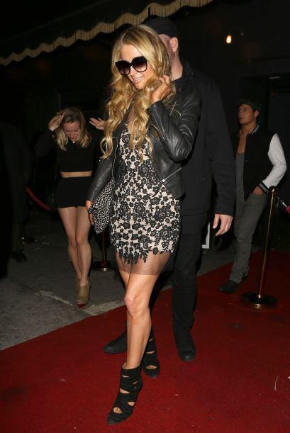 Tenemos que reconocer que Paris Hilton es toda 'fashionista' y su estilo...