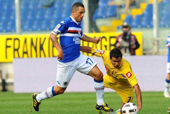La Sampdoria recibió a una siempre complicada Fiorentina.