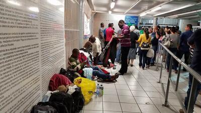 Ola de haitianos llega a la frontera de Arizona